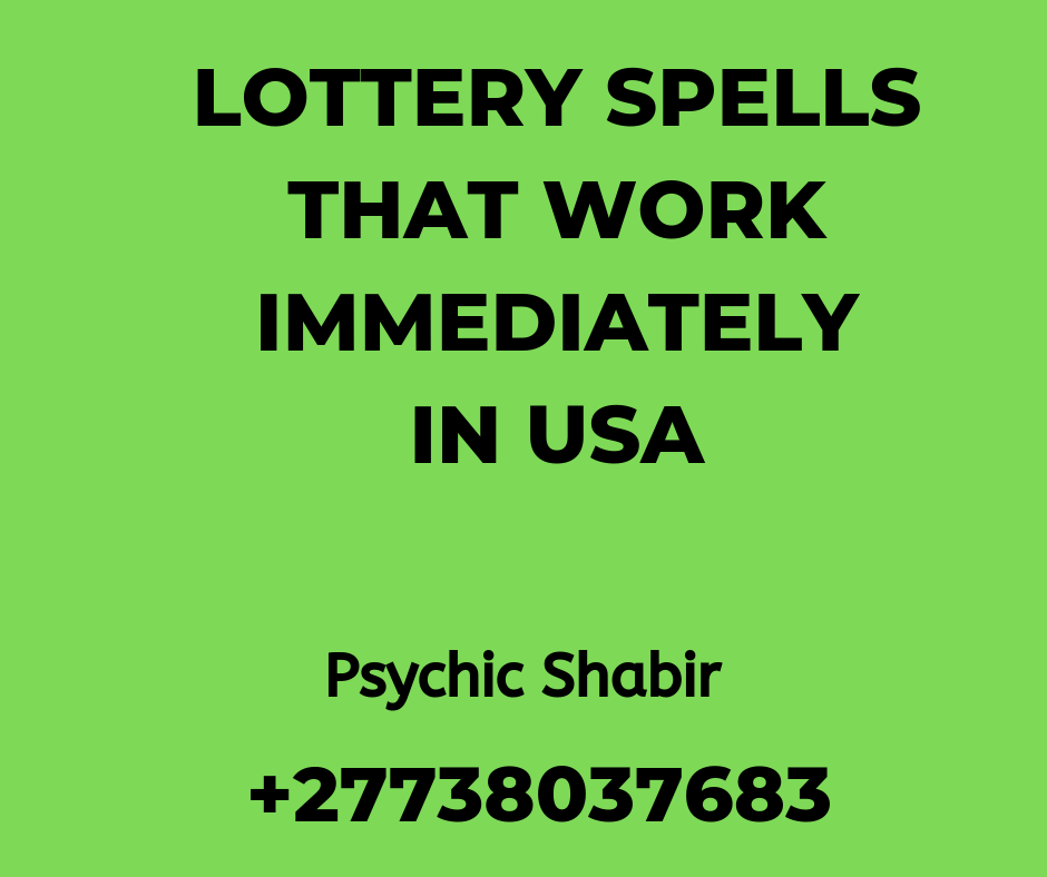 Mega Millions In United States Of America   Lottery Spells