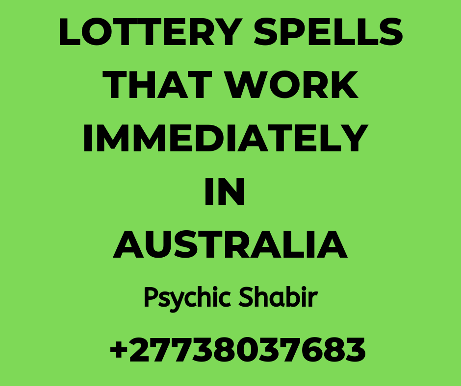 Spells To Win Lottery In Australia | Voodoo Spells For Lottery