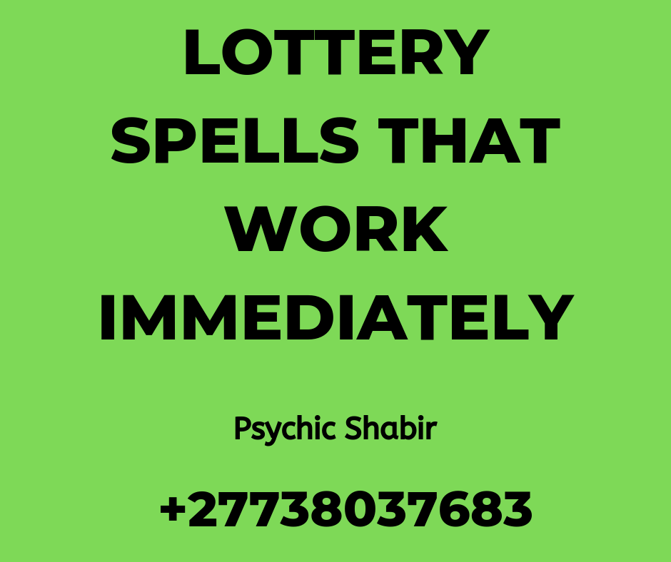 Lottery Spells That Really Work In UK | Oz Lottery In Australia