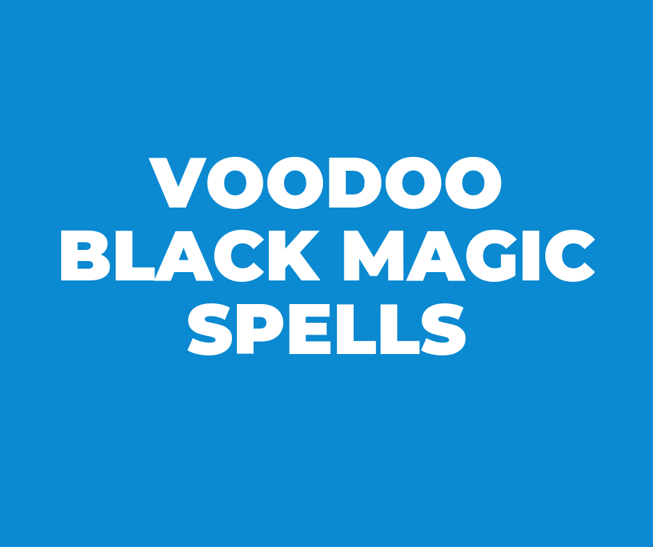 Black Magic Spells That Work Immediately