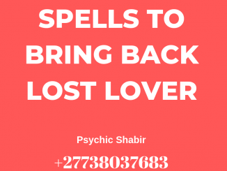 Spell To Bring Back A Lost Love   Real Magic Spell 1