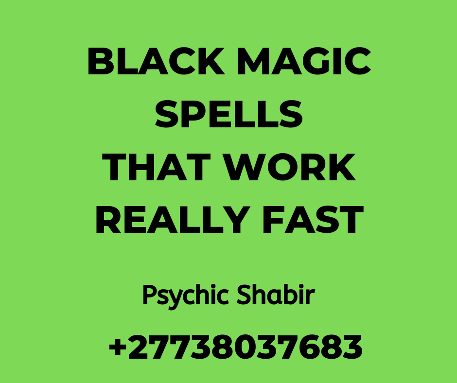 Is Black Magic Real / Voodoo Spells | Love Spells Master