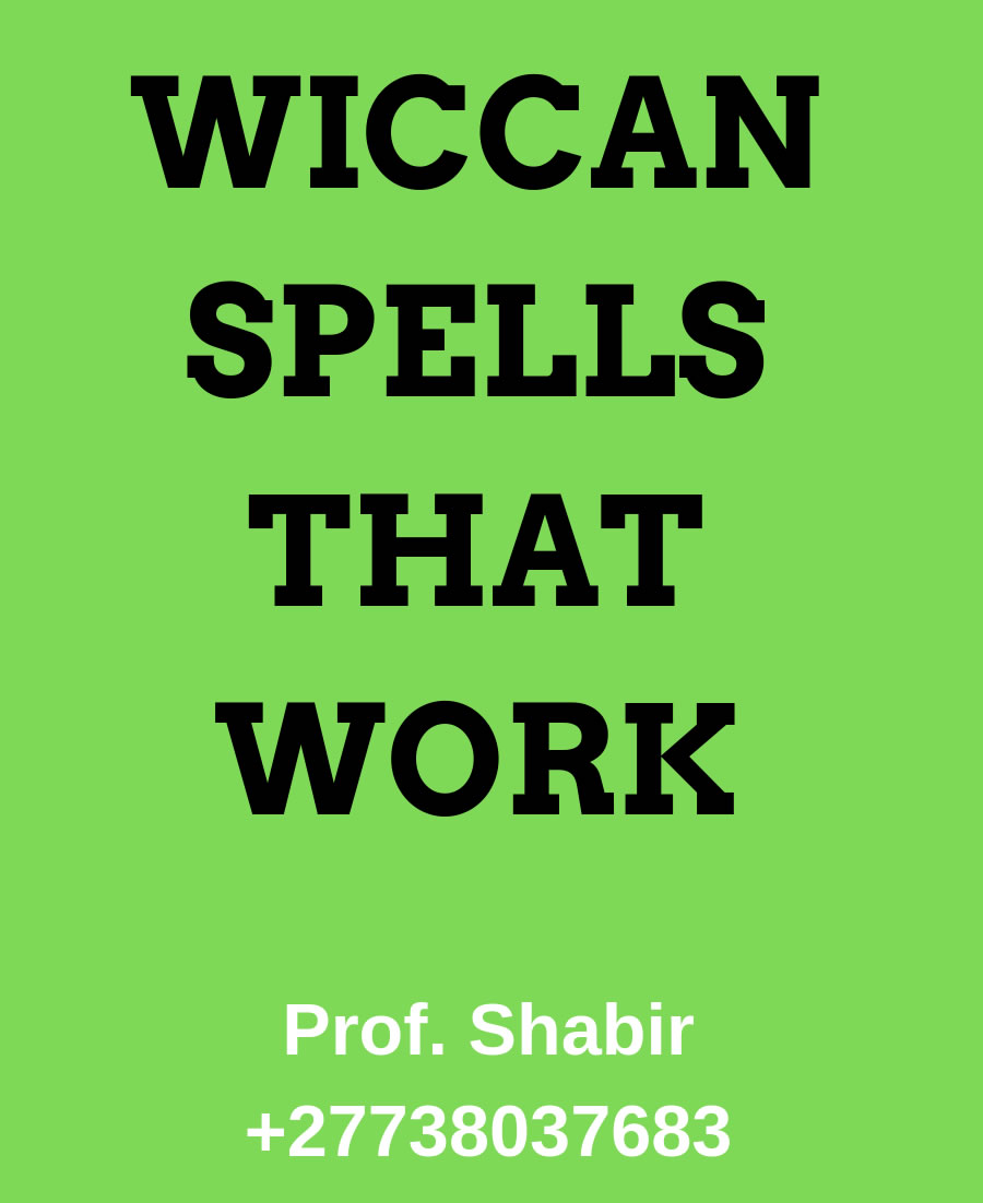 Wiccan Spell For Money / Spells That Work Like Magic