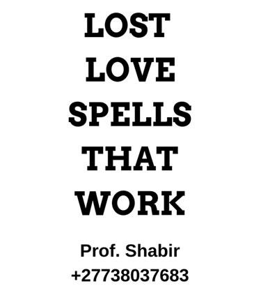 Lost Love Spells 2