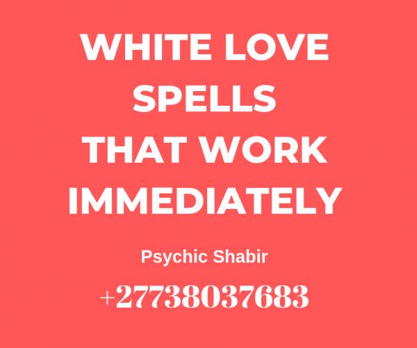 White Love Spell That Work Immediately  Lost Love Spells