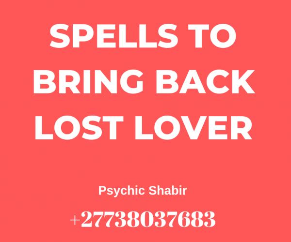 BRING BACK LOST LOVE SPELL / BLACK SPELL