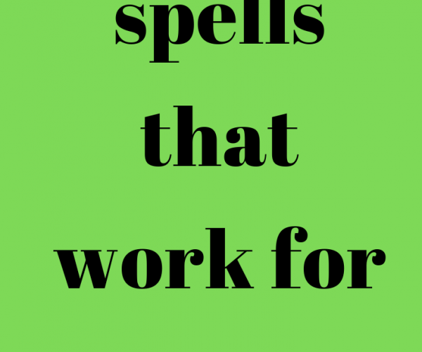 Spells Of Magic That Work